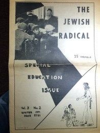 Education was a particular concern for many countercultural Jews