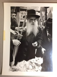 Buying Ethrog during Sukkot on the Lower East Side, undated