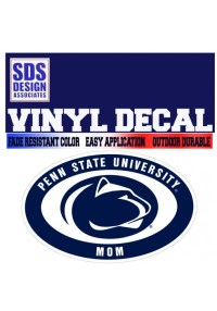 Penn State 6 Family Oval Decal  Available in Mom, Dad ...
