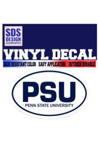 Penn State Decals for Penn State Sports starting at $1.99!