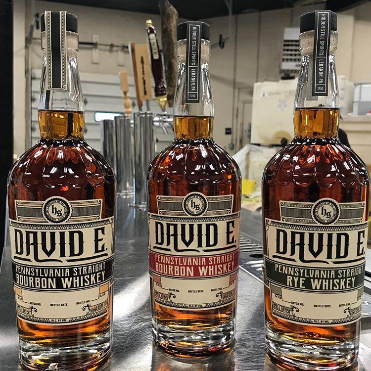 Hidden Still David E Whiskeys