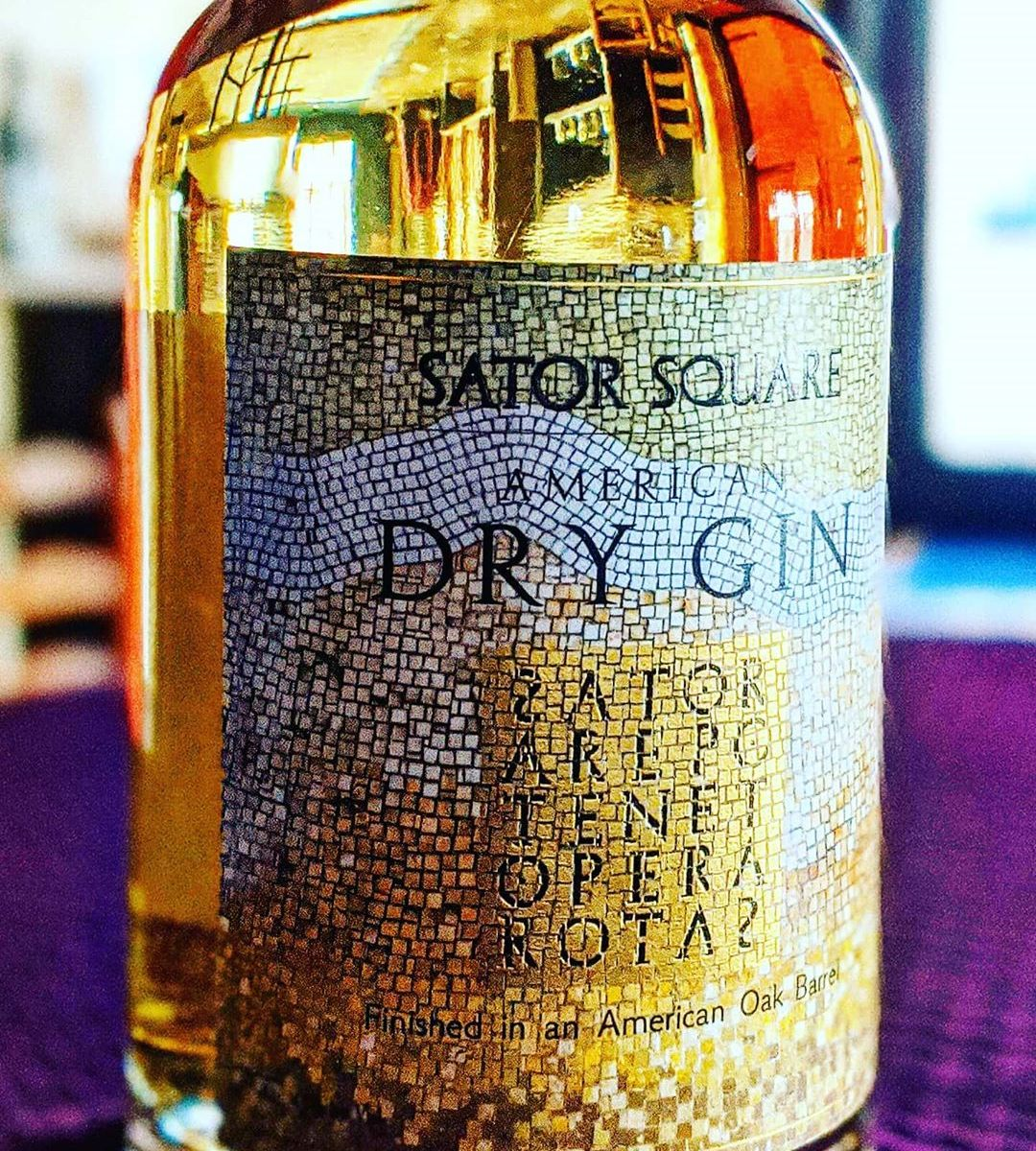 Sator Square Dry Gin - Barrel Rested