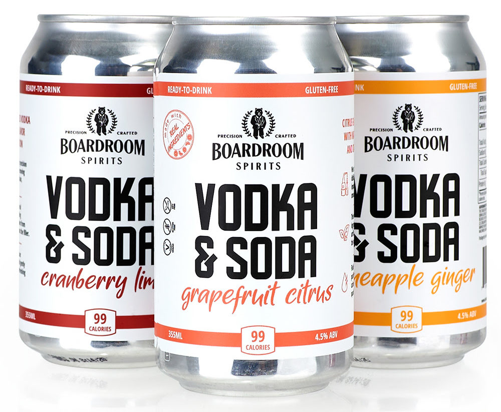 Boardroom Canned Cocktails