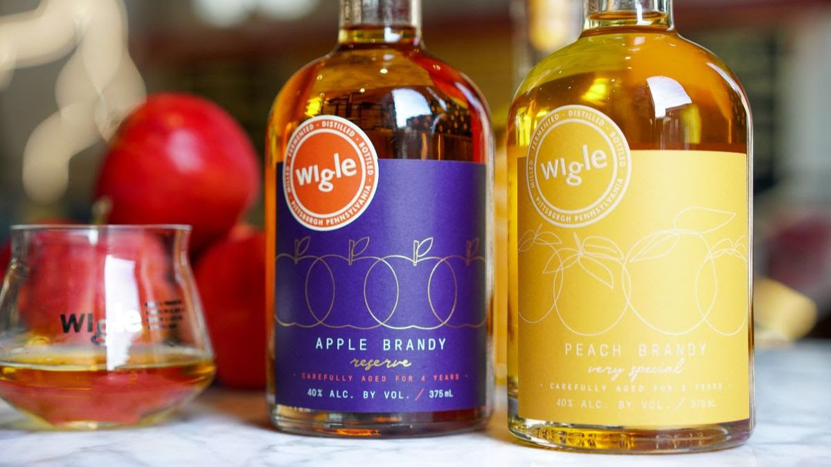 Wigle Peach and Apple Brandy