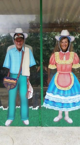 Funny pics at Parque del Cafe