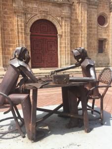 Street sculptures!