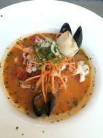 Fish soup at Lisa Elmqvist