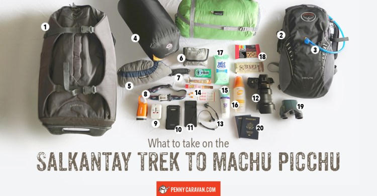 Salkantay-Trek-Gear