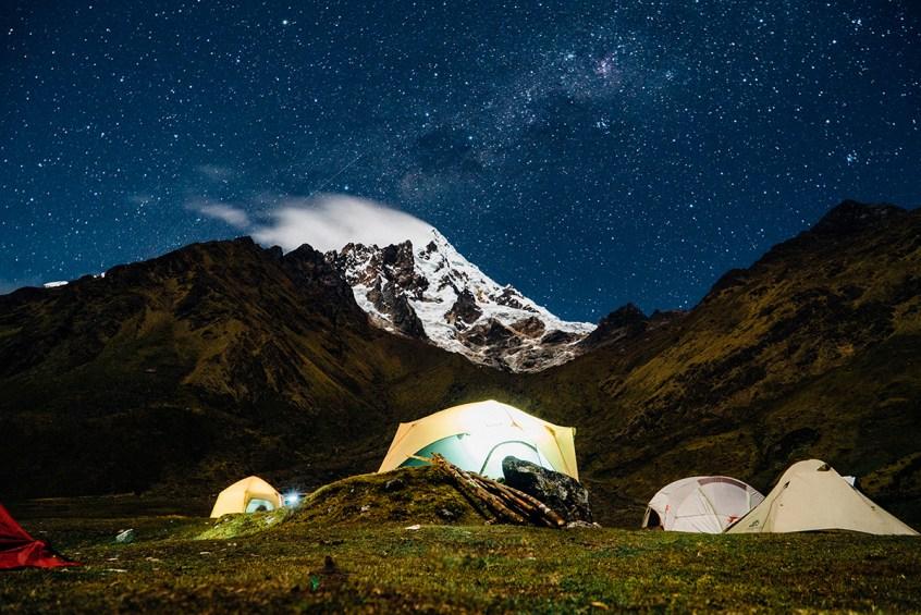 Our camp at Huaraymachay