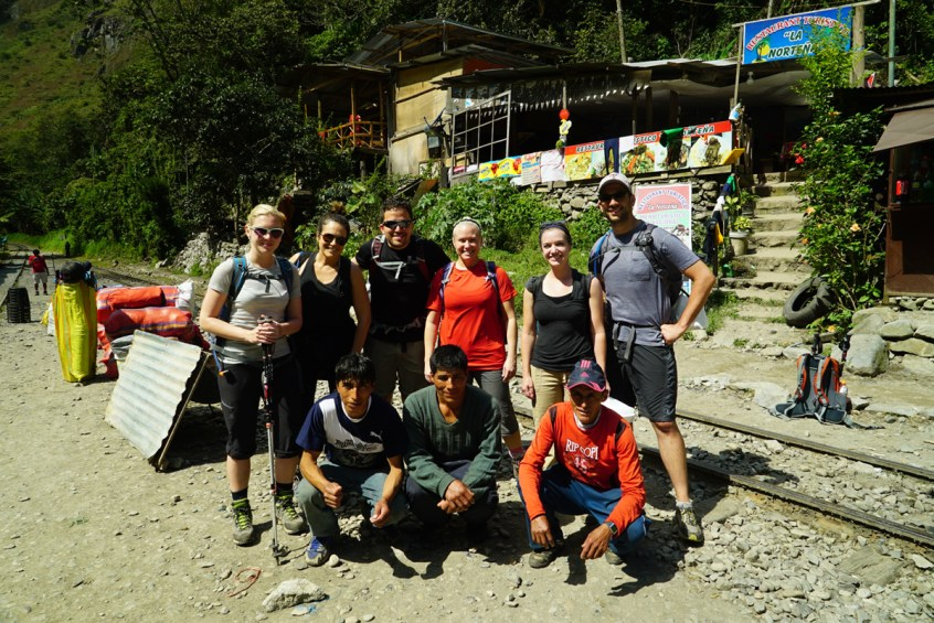 Our group with our porters.