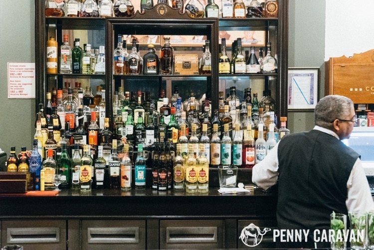 Bar at the Hotel Nacional