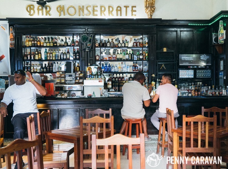Bar Monserrate, Havana