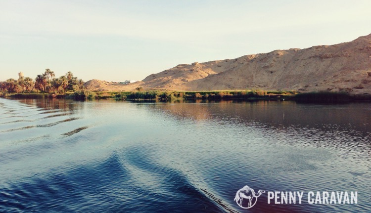 The beautiful river Nile.
