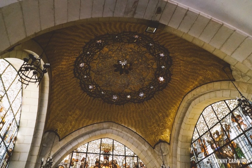 Ceiling of the Chapel of the Flagellation