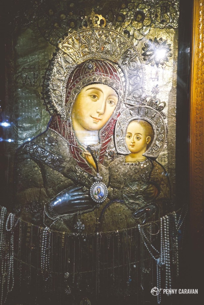 Our Lady of Bethlehem, the only holy icon that depicts the Madonna smiling.
