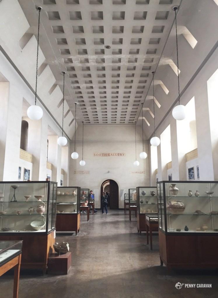 Museum interior.