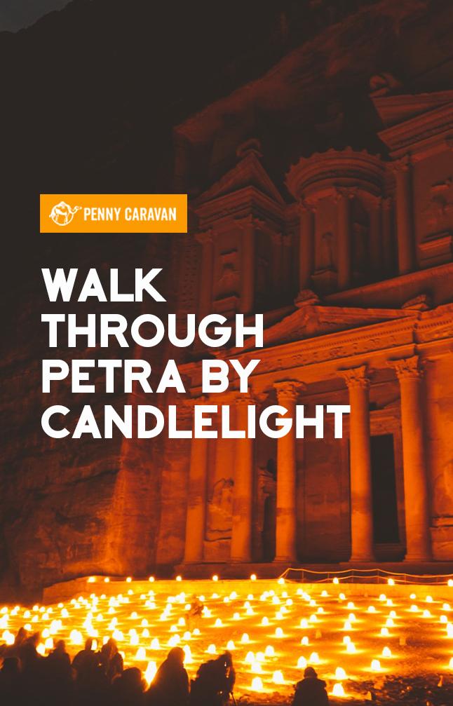 Petra at Night | Penny Caravan