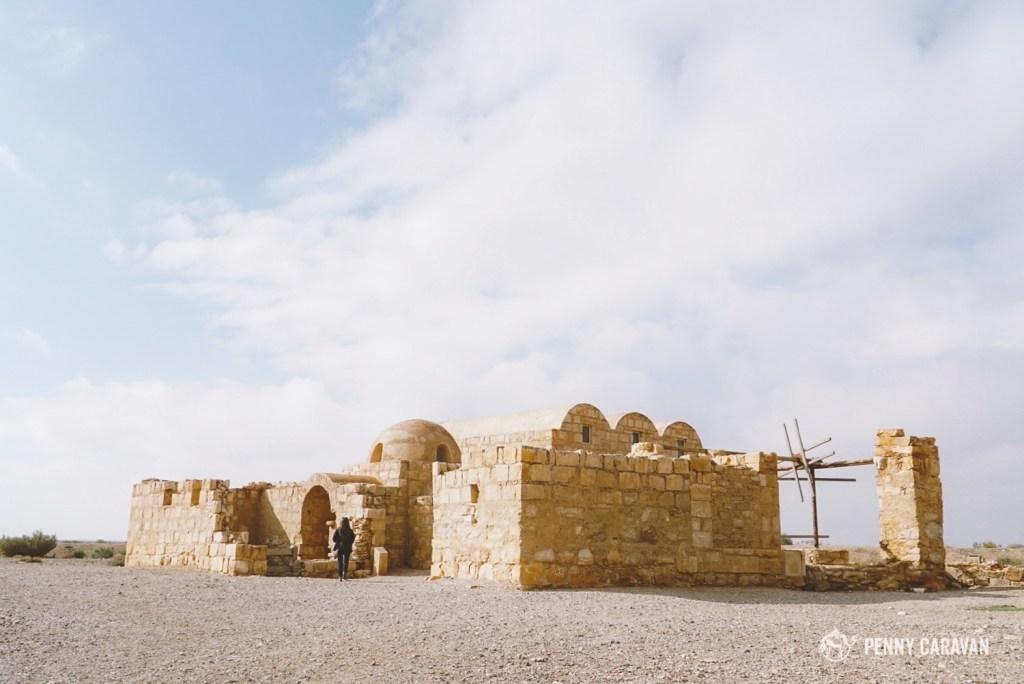 One of the desert castles of Eastern Jordan.