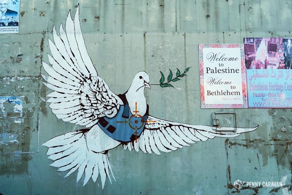 Banksy's dove.