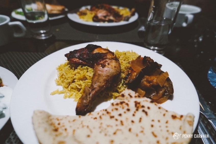 Chicken Maklubah