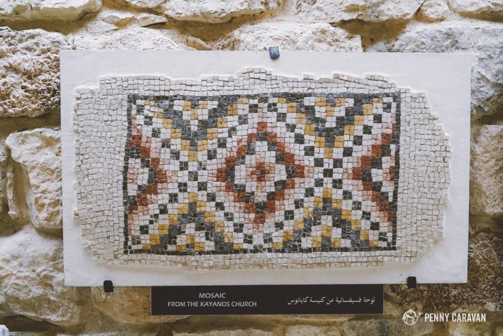Mosaic museum at Mt Nebo.