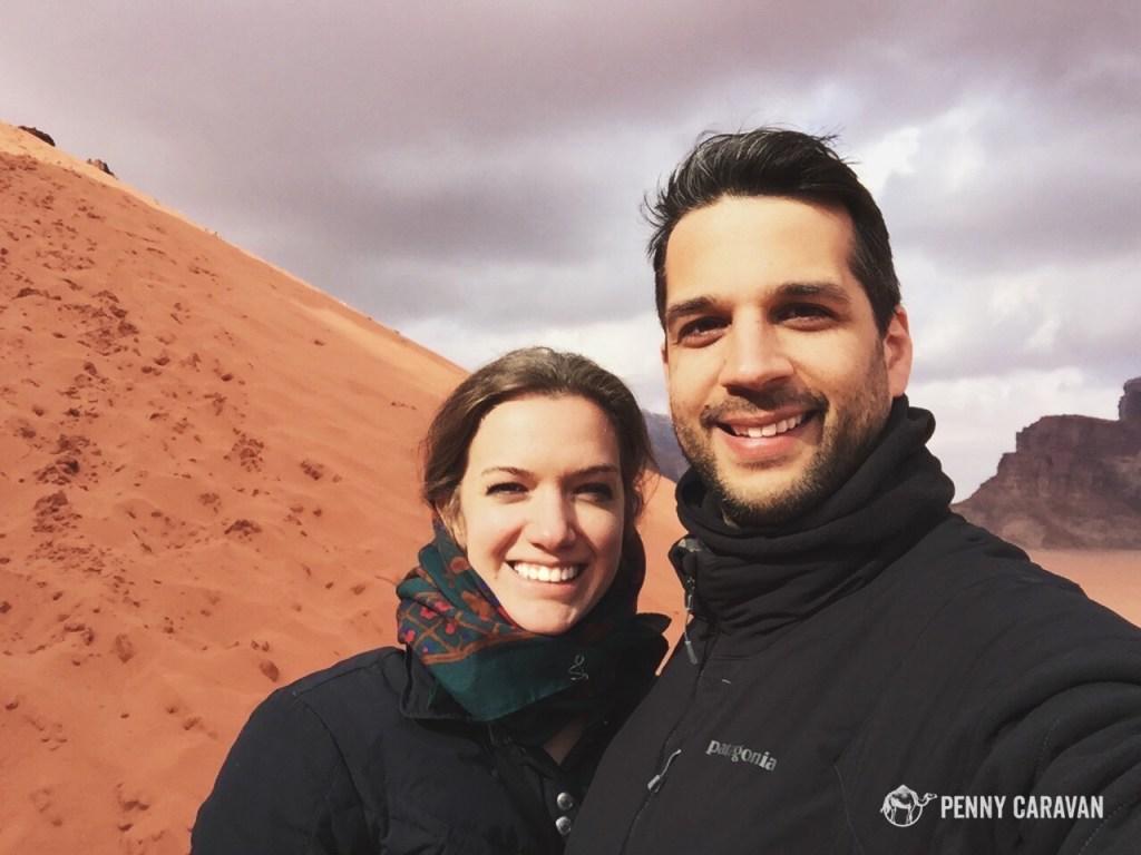 Dune selfie.
