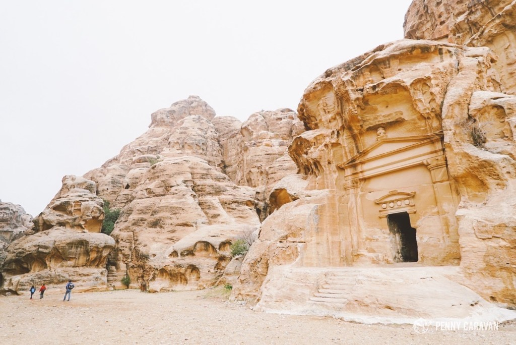 Little Petra tomb.