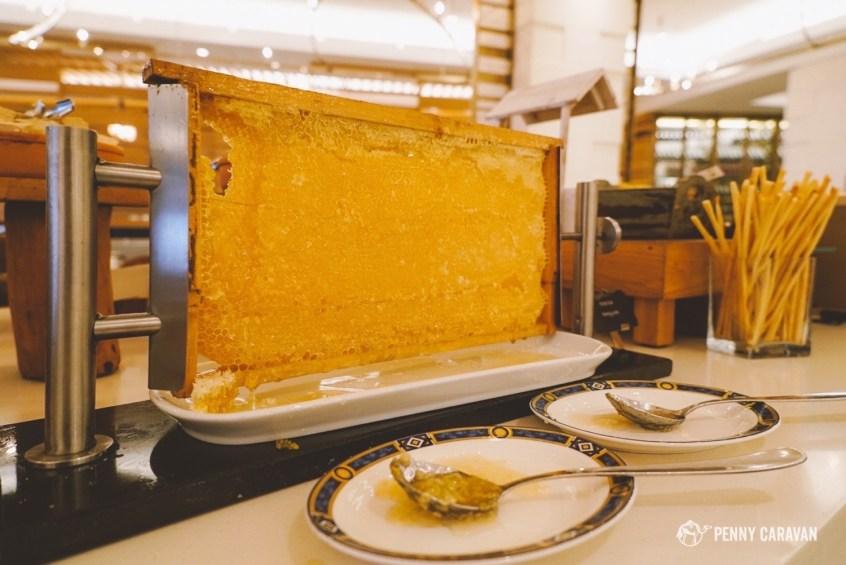 Even a huge honeycomb!