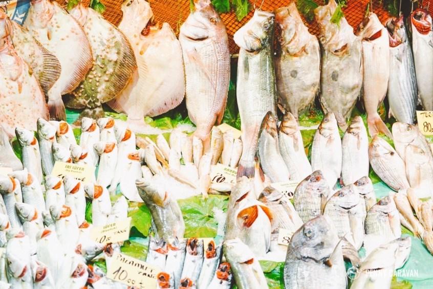 Kadikoy fish market.