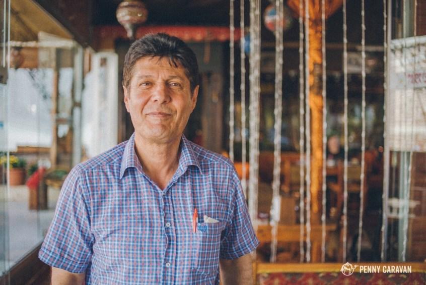 Mehmet, our waiter at Turkestan.