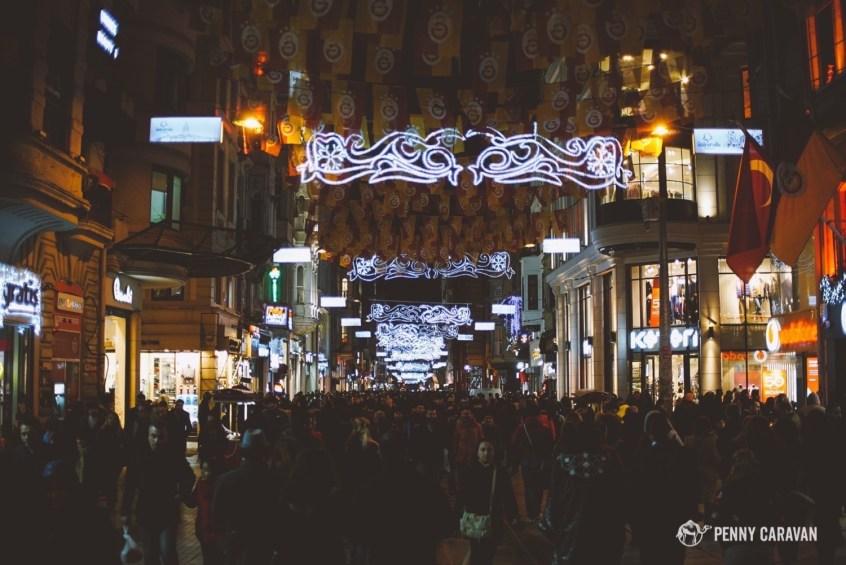 Istiklal Shopping Street