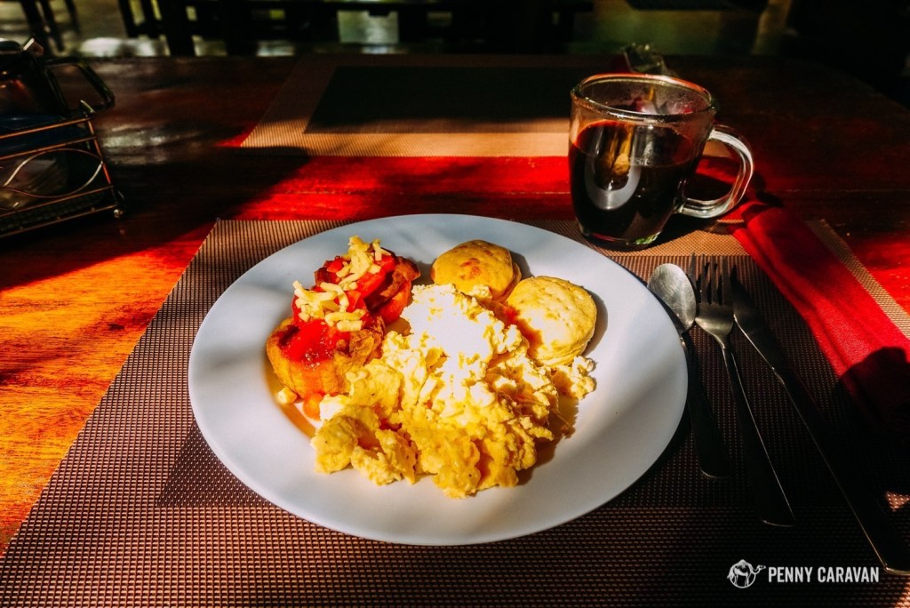 Breakfast plate