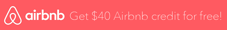 $40 Airbnb Credit banner
