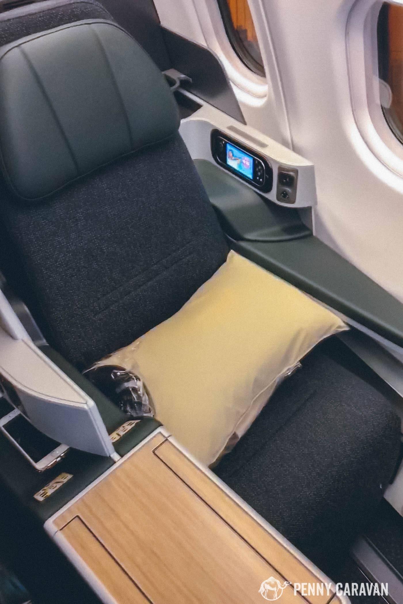 Eva Air Taipei to Houston-105