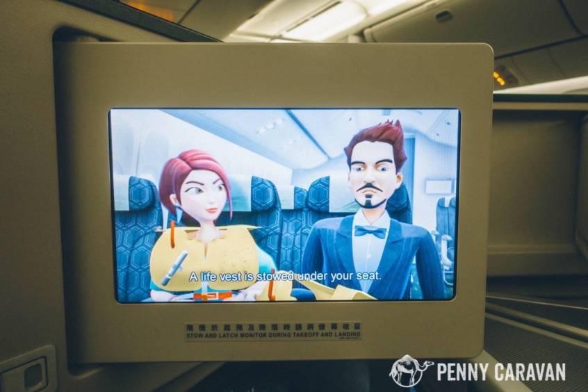 Eva Air Taipei to Houston-66