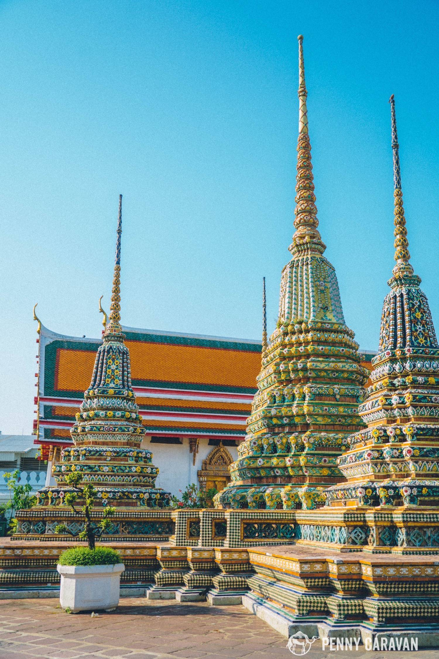 The Reclining Buddha And Massage School At Wat Pho Penny