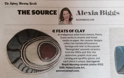 Featured in the Sydney Morning Herald Spectrum section