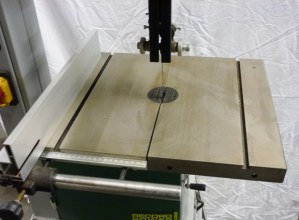 Record Power Band Saw (Table detail)