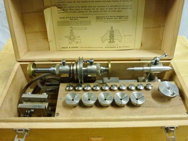Boley & Leinen  Reform 8 mm watchmakers lathe