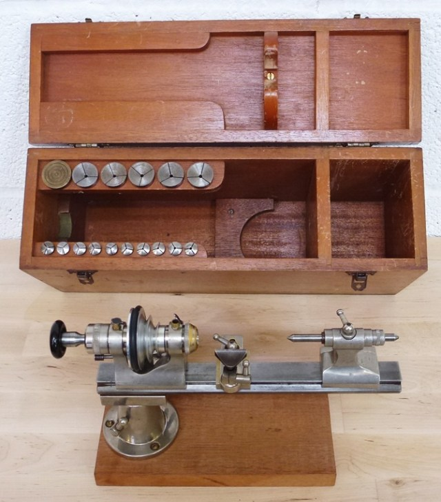 IME WATCHMAKERS 8MM LATHE