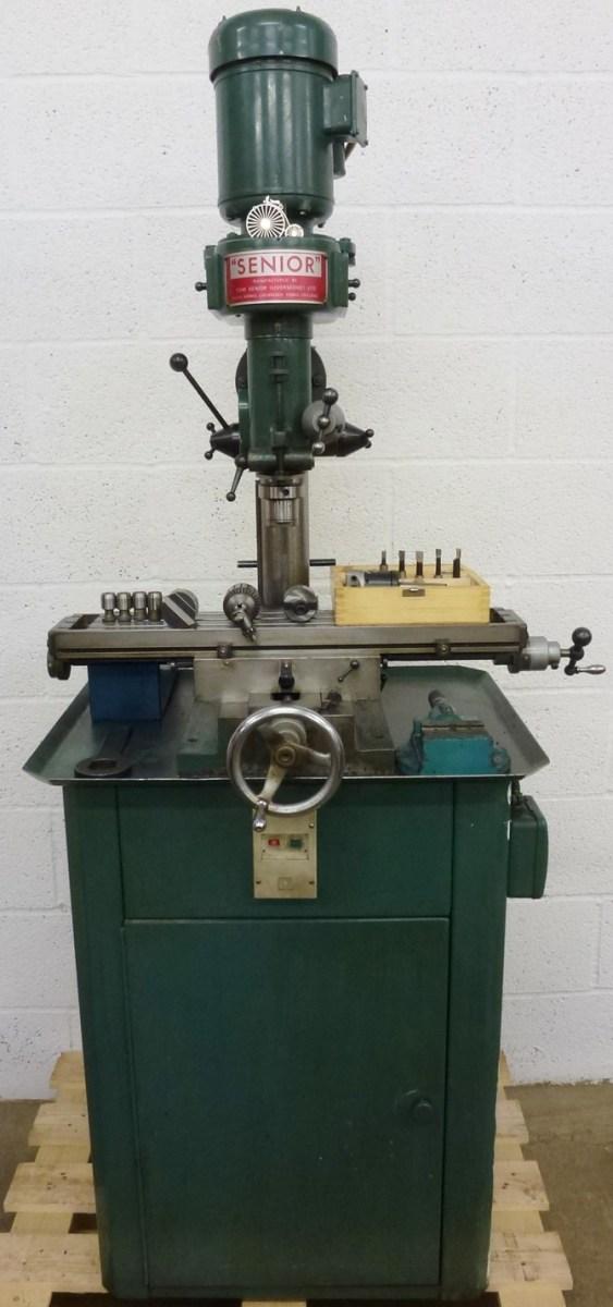 Tom Senior Type E Vertical Milling Machine 171 Pennyfarthing Tools Ltd