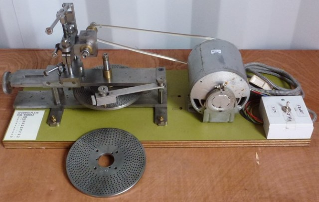WHEEL CUTTING ENGINE Home Constructed