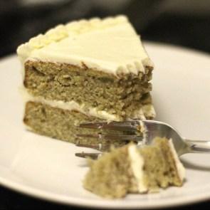Banana Cake with Vanilla Buttercream