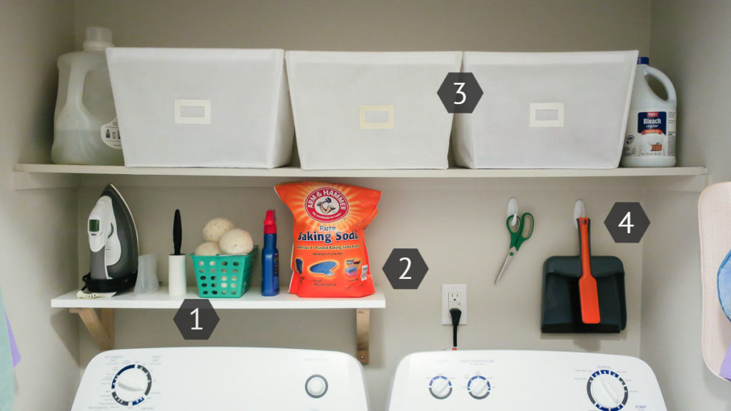 Browse our posts on organization in the laundry and utility room, from decanting detergent to where to stow the dustpan and brush. Laundry Room Organization on a Budget | Ideas & Inspiration