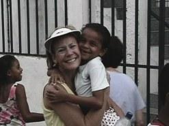 Her favorite girl in Pirambu, Brazil