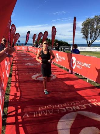 Challenge melb sprint run finish