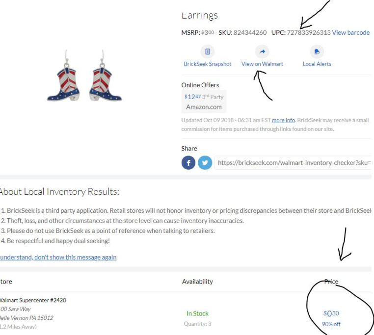 How to use Brickseek for Walmart, Target, Lowes and more