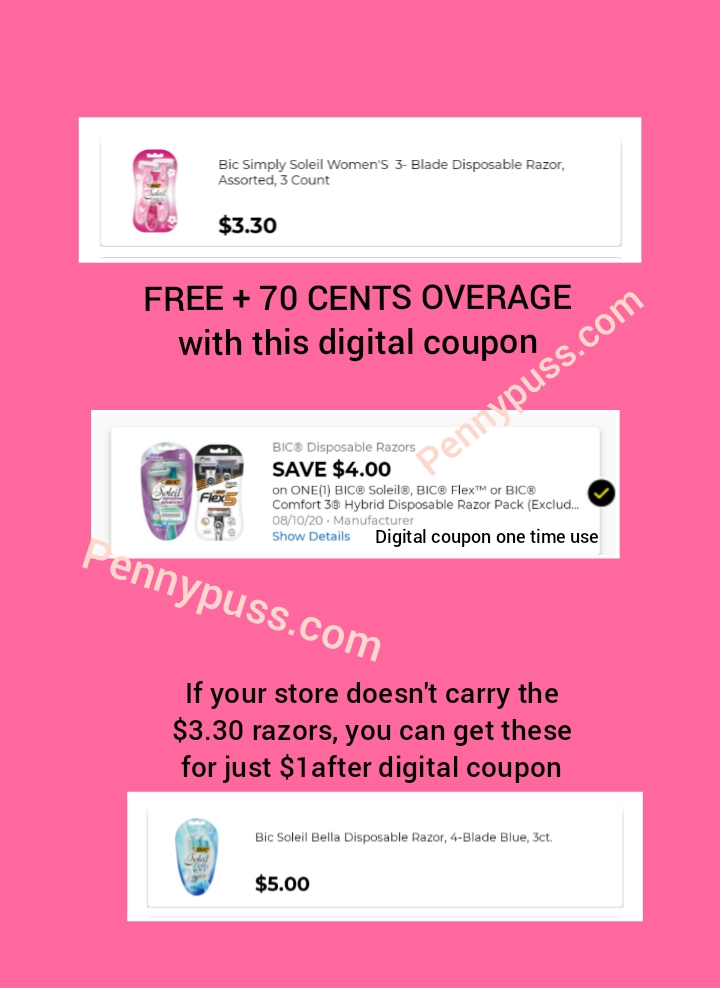 Free 70 Cents Overage At Dollar General Penny Puss