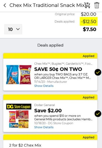 Dollar General Chex Mix Deals New Coupons Penny Puss