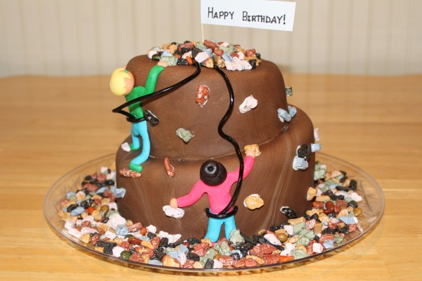 Rock Climbing Fondant Cake Penny' Food